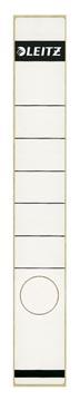 Leitz rugetiketten ft 3,9 x 28,5 cm, wit