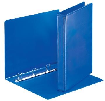 Esselte personaliseerbare ringmap, rug van 4,4 cm, 4 D-ringen van 25 mm, blauw
