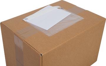Cleverpack documenthouder, onbedrukt, ft 165 x 112 mm, pak van 100 stuks