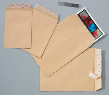 Calipage envelop ft 229 x 324 mm, bruine kraft, doos van 250 stuks