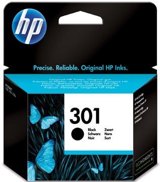 HP inktcartridge 301, 190 pagina's, OEM CH561EE, zwart
