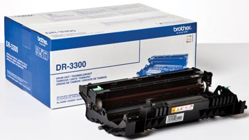 Brother drum, 30.000 pagina's, OEM DR-3300, zwart