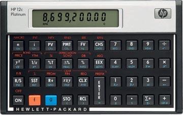 HP financiële rekenmachine 12C Platinum