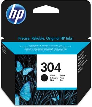 HP inktcartridge 304, 120 pagina's, OEM N9K06AE, zwart