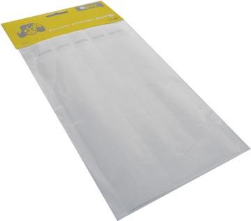 Orakel polsbandjes Tyvek, wit, pak van 100 stuks